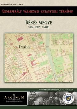 Georeferalt Varmegyei Kataszteri Terkepek Bekes 1882 1887 1